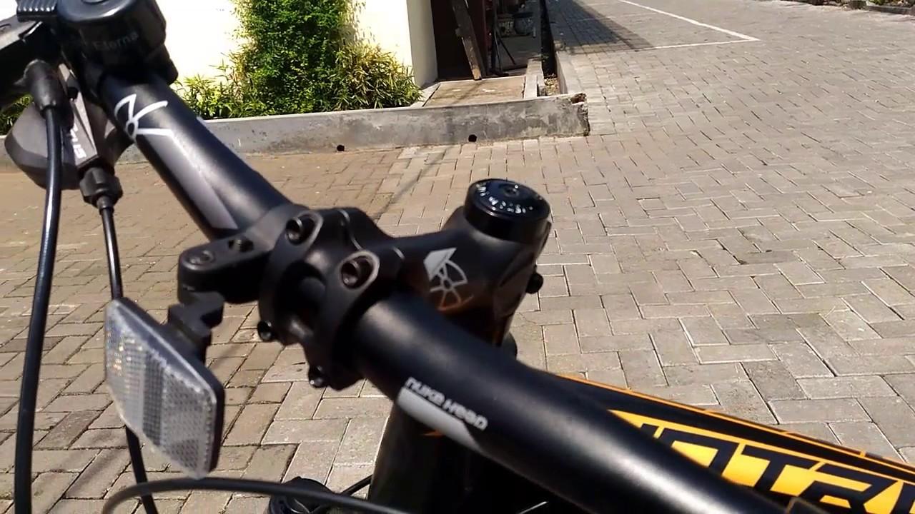 Review Sepeda Wimcycle Hotrod 2 0 Dengan Hydrolic Break Youtube