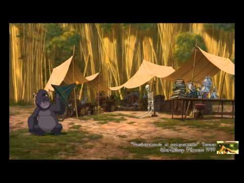 Tarzan - Desbaratando el Campamento [Audio Latino]