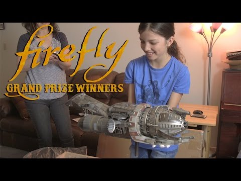 Firefly Cargo Crate: Grand Prize Winners