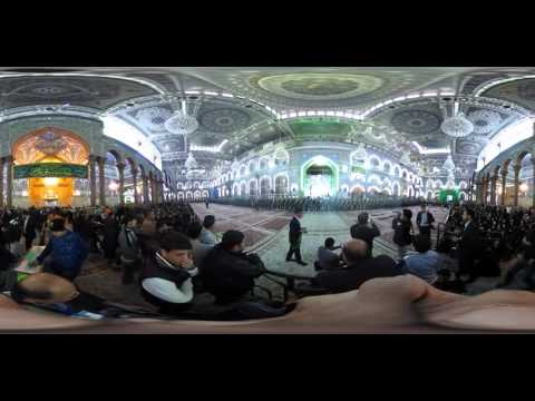 360-degree video: Inside one of the holiest pilgrimage sites in Iraq