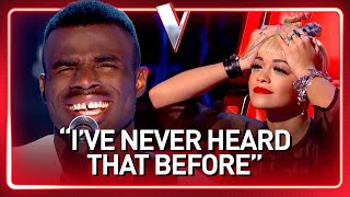 This SHY guy's INSANE DEEP voice SHOCKS The Voice coaches | Journey #82