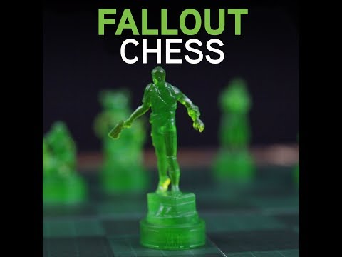 Fallout Chess - A ThinkGeek Exclusive