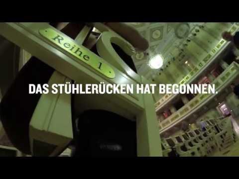 Konzerthaus Berlin - Mittendrin 2: Das Stühlerücken hat begonnen