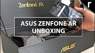 Asus Zenfone AR Unboxing, Setup & Hands-on Review (UK model)