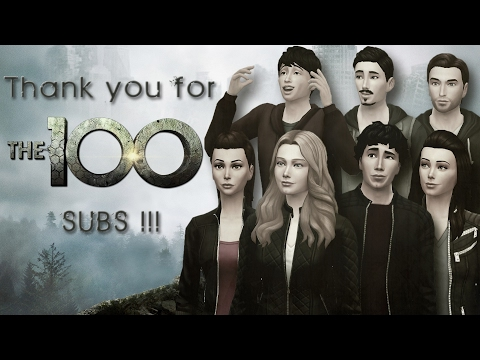 THE SIMS 4: CAS   The 100 Cast [ Thanks for the 100 SUBS !! ]