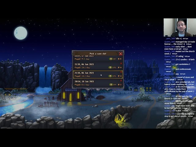 Graveyard Keeper Speedrun (Trial 4): 03