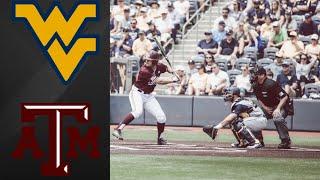 #15 West Virginia vs Texas A&M NCAA Baseball Regional | College Baseball Highlights
