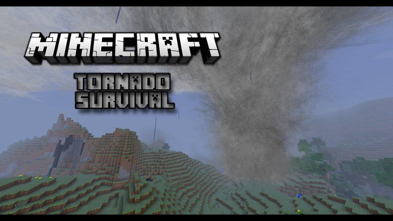 RISKY Minecraft Tornado Survival S1E1 YouTube