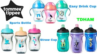 Cana Tommee Tippee Explora Non-Spill, Sports bottle ,  Easy Drink Cup , Straw Cup