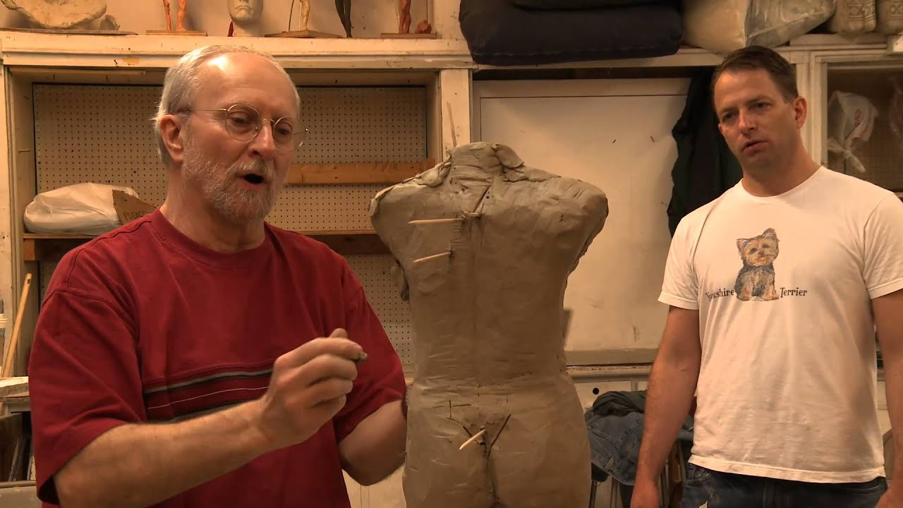 how to make human models out of clay