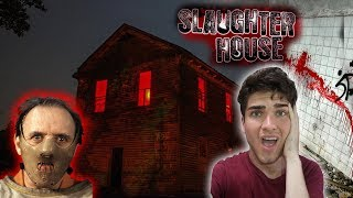 EXPLORING HAUNTED SLAUGHTER HOUSE//ABANDONED FARM