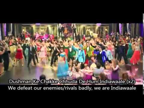 'India Waale' Video Song with subs - Happy New Year