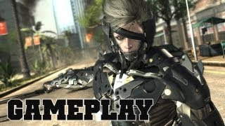 Metal Gear Rising Revengeance Official Gameplay
