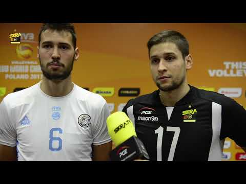 Rozalin Penchev, Nikolay Penchev post-match interview after PGE Skra - Personal Bolivar 3-1