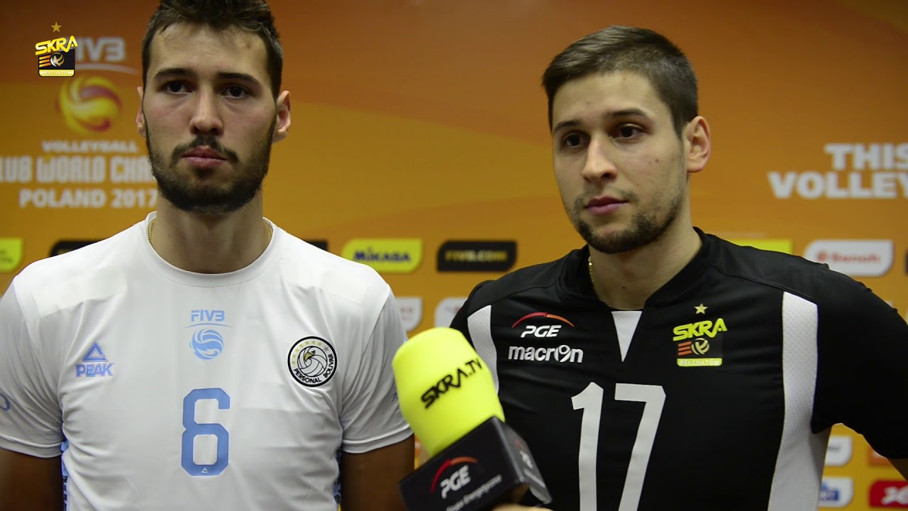 Rozalin Penchev, Nikolay Penchev post-match interview after PGE Skra – Personal Bolivar 3-1