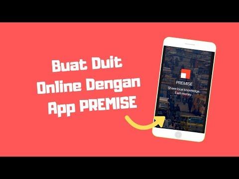 Buat Duit Online Dengan App PREMISE