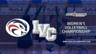 CCCAA Women's Volleyball: American River vs Irvine Valley - 12/6/19 -  7pm