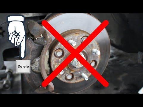 Honda Accord Captive Rotor Delete