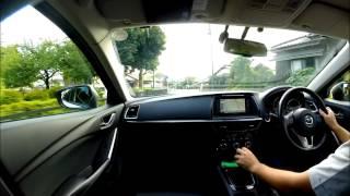 アテンザワゴン(MT車)の運転動画。