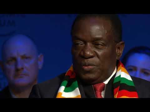 "Mnangagwa on Grace Mugabe & Corruption ""no sacred cows"""