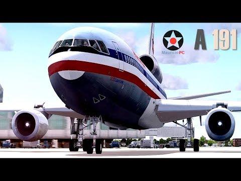 Desprendimiento De Motor - Vuelo 191 De American Airlines (Reconstrucción)
