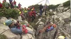 Rettungsaktion in der Riesending Höhle