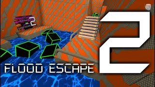 Roblox Flood Escape 2 (Test Map) - Lavaey Ruin Geek (Insane)