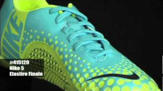 Nike5 Elastico Finale - Baltic Blue/blueprint/hot Lime Indoor Soccer Shoes