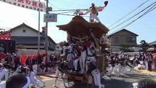 平成29年 山直南・山滝だんじり祭り 6町パレード 2017/10/08(日)