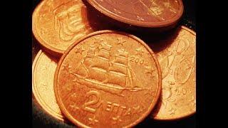 1, 2, 5 Euro Cent Coins!