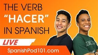 How to Use the Verb Hacer in Spanish Basic Spanish Grammar