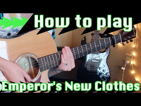 Emperor's New Clothes - Panic! at the Disco | EASY GUITAR TUTORIAL