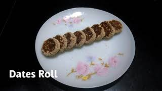 Delicious Recipes # 16 | Dates Roll | Easy Recipe