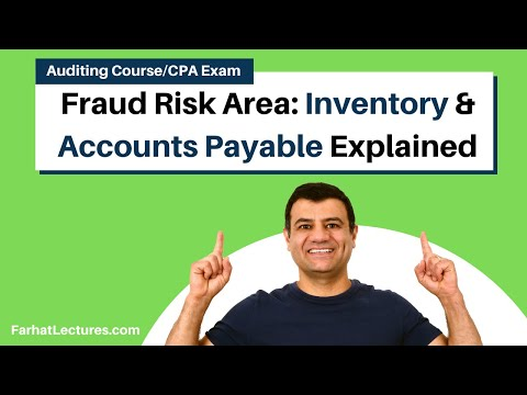 Specific Fraud Risk area  Inventory  accouts payable  payroll  fixed assets CPA exam Audinting cours
