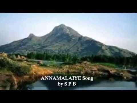 Latest song by SP Balasubramaniam on Lord Annamalaiyar (Arunachala)