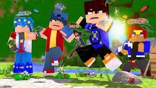 Minecraft - TEXTURA ÉPICA DO BEYBLADE PARA SKYWARS (Skyminigames)