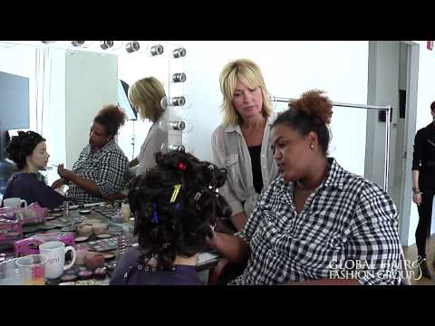 PK Design Team in NY with Global Hair and Fashion Group- 'The Making Of...'