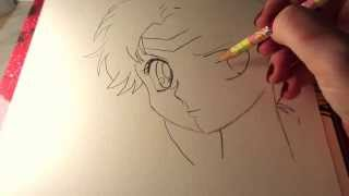 ✎ Relaxing draw - Sailormoon Tutorial