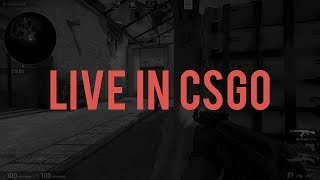 LIVE IN CSGO (A GAME ON MIRAGE)