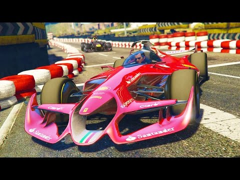 GTA 5 PC Mods - FORMULA 1 CARS RACING MOD! GTA 5 F1 CAR AND RACES Mod Gameplay! (GTA 5 Mod Gameplay)