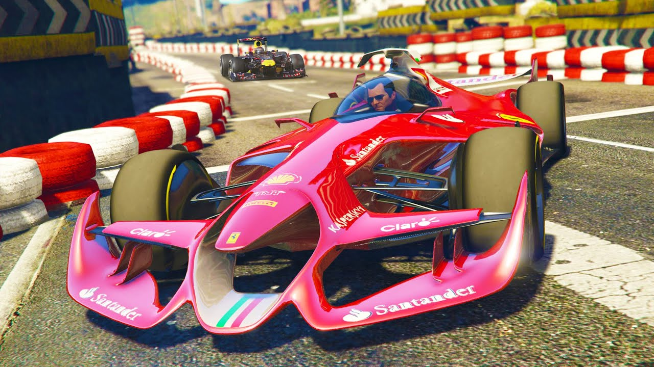 GTA 5 PC Mods   FORMULA 1 CARS RACING MOD! GTA 5 F1 CAR AND RACES Mod  Gameplay! (GTA 5 Mod Gameplay)   YouTube