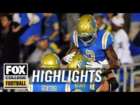 UCLA vs Cal | Highlights | FOX COLLEGE FOOTBALL
