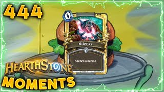 The Triple Silence Burger! | Hearthstone Daily Moments Ep. 444