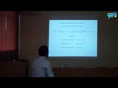 Prof. Eleuterio F. Toro. Hyperbolic equations and finite volume and DG frameworks.