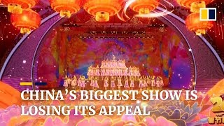 China's biggest show is losing its appeal