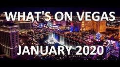 January 2020 What's On LAS VEGAS - Best Shows, Casinos & Restaurant