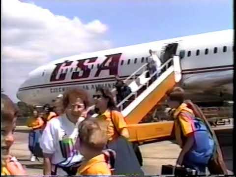 Slavjane 1992 Trip to Slovakia