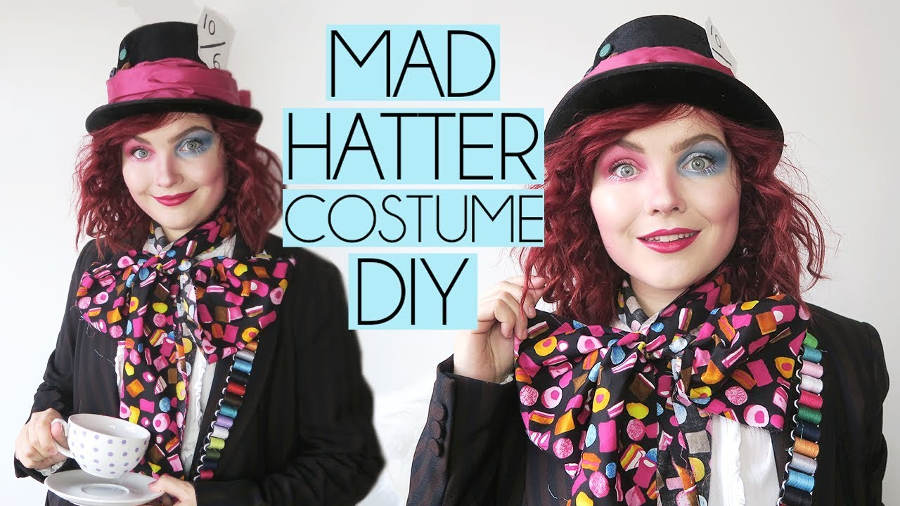 Mad Hatter Easy Diy Costume Makeup Tutorial