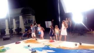 Backstage съемок социального клипа проекта