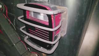 USA Flag Tail Light Cover Install (Jeep TJ)